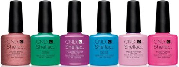 CND Shellac Vandal collection