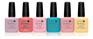 CND Shellac Flirtation Collection